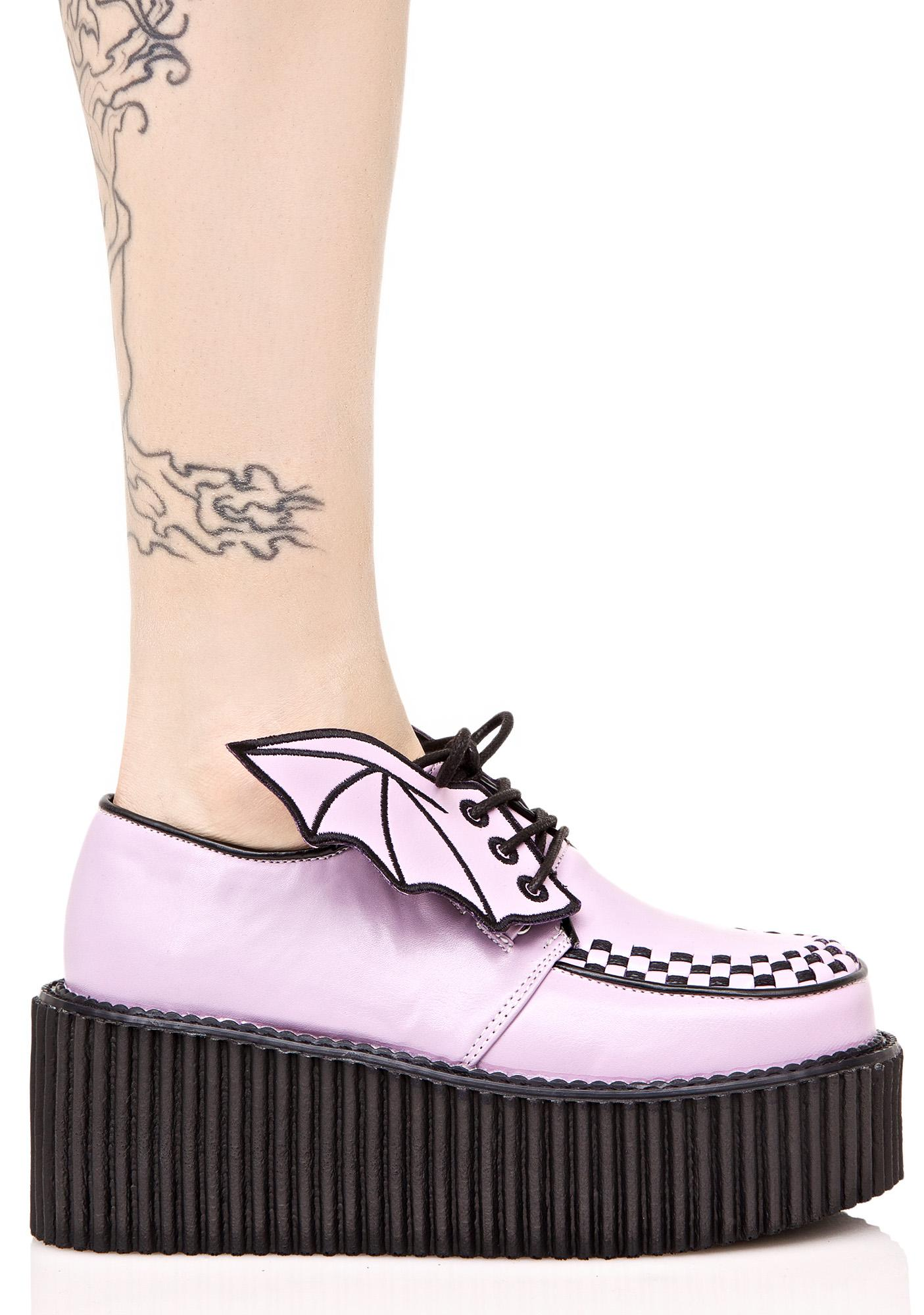 Demonia Fly By Night Platform Creeper