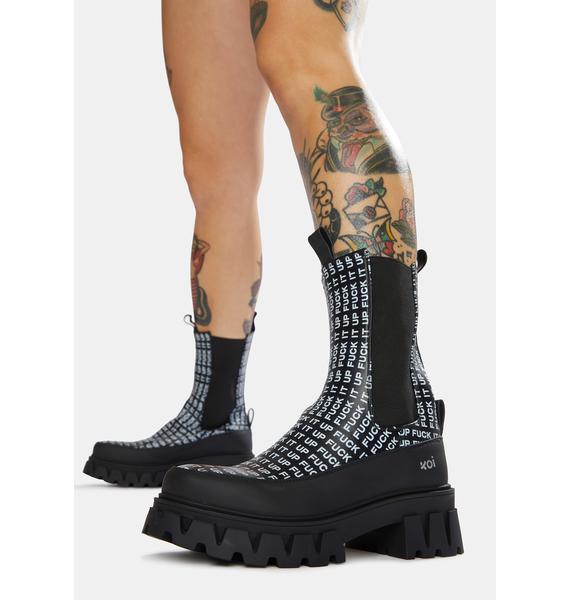 Koi Footwear F It Up Chelsea Boots
