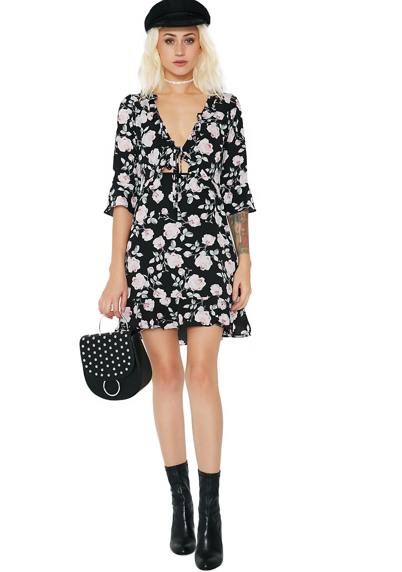 Hopeless Romantic Ruffled Dress