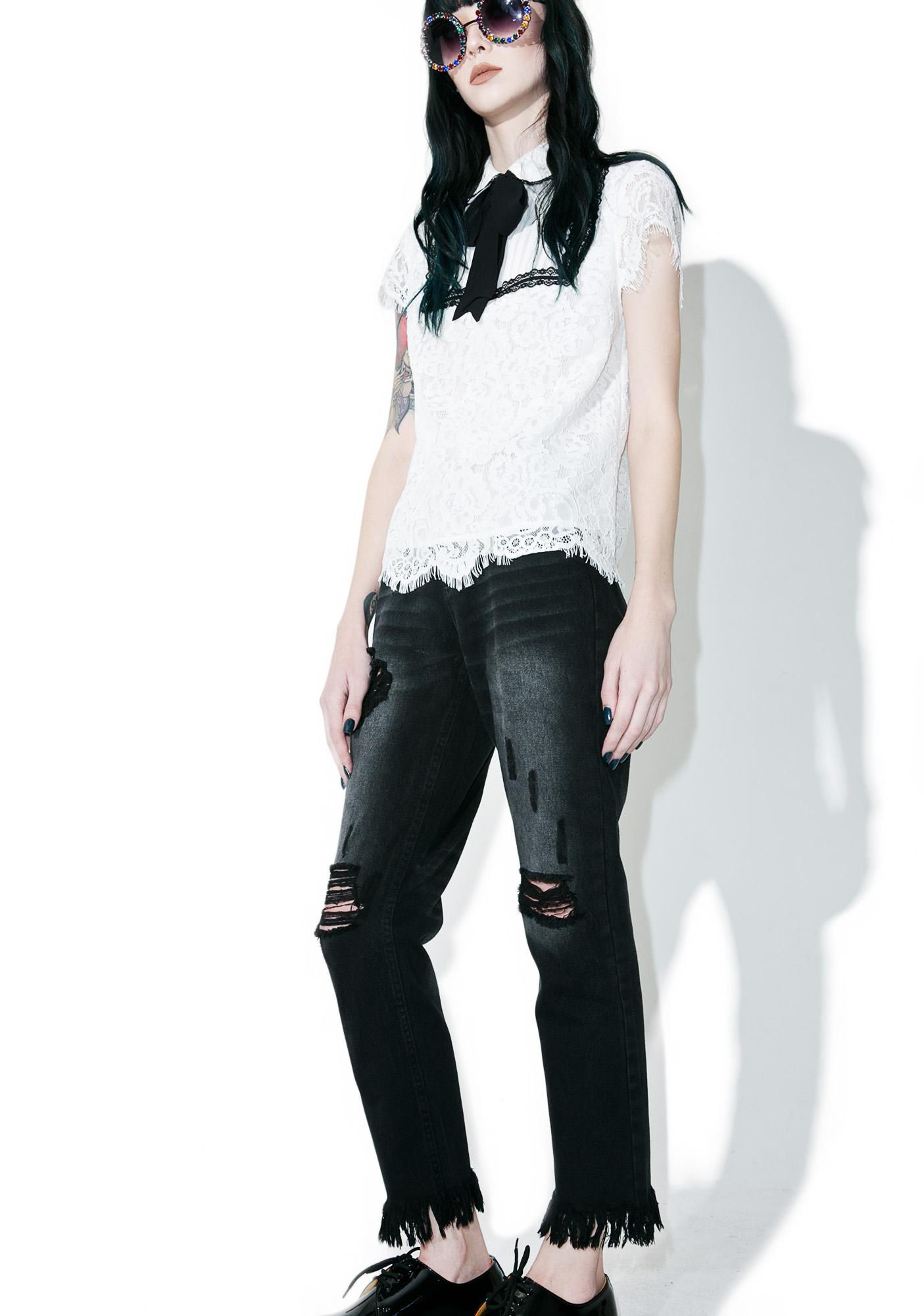 Tattle Tailz Distressed Jeans