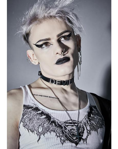Devil's Disciple Vegan Leather Choker