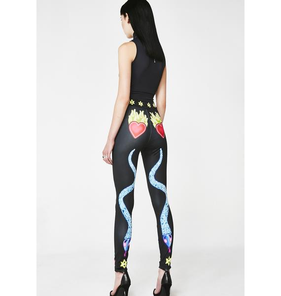 Long Clothing x Nympha Serpentine Leggings