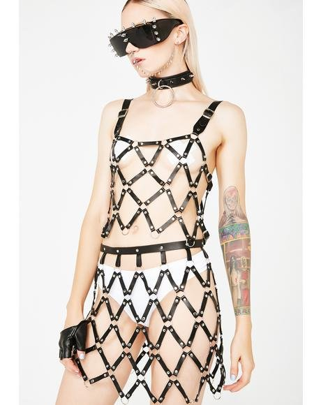 Vicious Mistress Cage Skirt